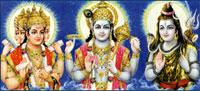 Brahma, Vishnu, Shiv