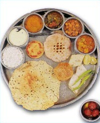 Traditional Gujarati Thali