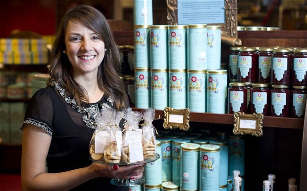 Rekha Mehr, founder of Pistachio Rose, an anglo-indian food start-up which supplies Fortnum & Mason