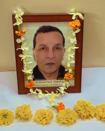 Kishorbhai Menandbhai Sisodia passed away